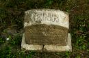 grave marker for Henry Hanson