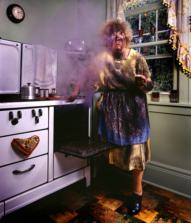 """The photographs in this show are from Judy Olausen's book """"Mother,"""" a 1996 New York Times best-seller."""
