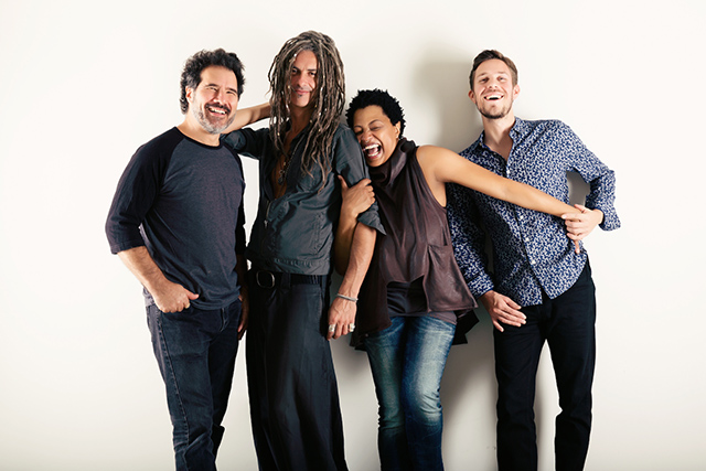 Lisa Fischer and Grand Baton perform Thursday night at the Dakota.
