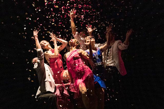 """Zenon Dance Company in """"Pink Martini"""" by Mariusz Olszewski."""
