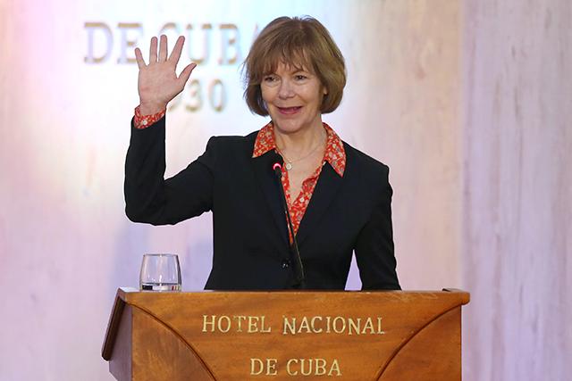 Tina Smith in Havana