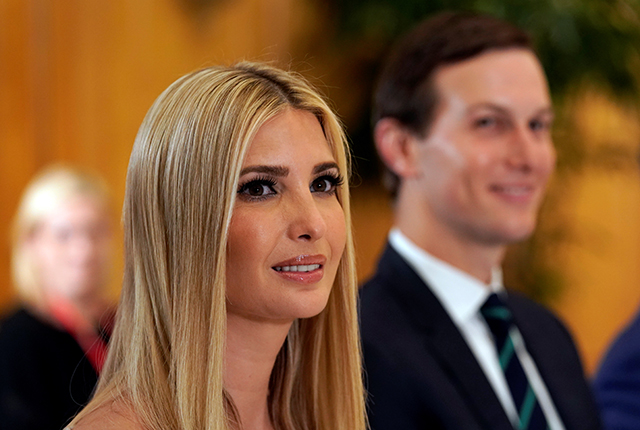photo of ivanka trump and jared kushner