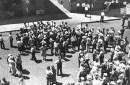 historical photo of strike