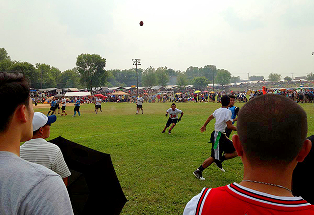 An image from the 2015 Hmong J4 festival at McMurray Field in St. Paul.