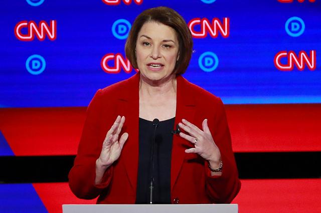In second Democratic debate, Klobuchar outlines agenda — 15