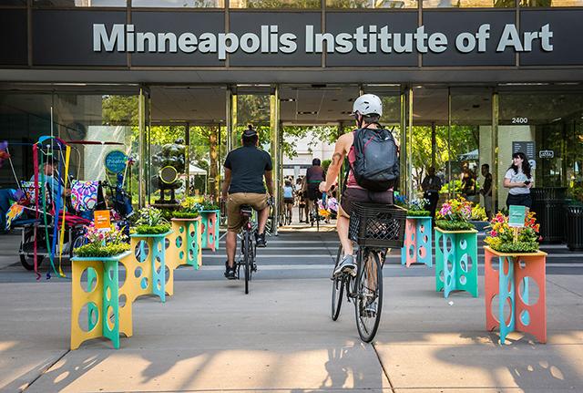 Bike through Mia's doors this Thursday.