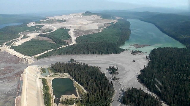 A tailings dam failure at the Mount Polley mine in British Columbia unleashed a toxic slurry into nearby waters in 2015.