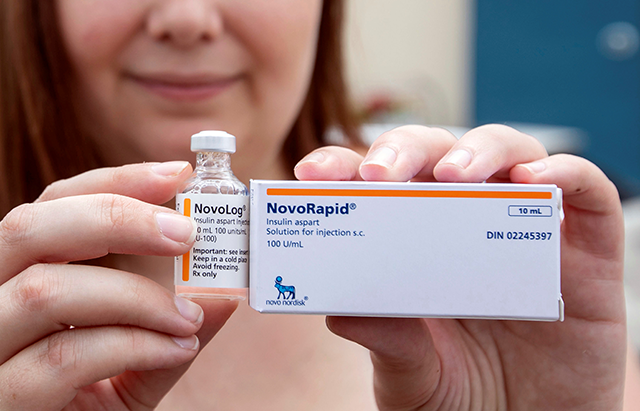 The site might offer tips for Minnesota patients who might want to drive into Canada to purchase drugs and insulin.