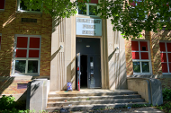 The former Sibley East elementary school