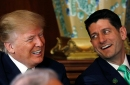 President Donald Trump and Speaker of the House Paul Ryan