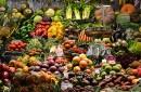 Vegetables, fruit