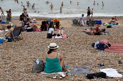 photo of people on beach
