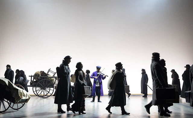 photo of fiddler on the roof production