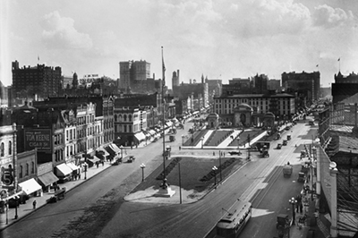 historical photo of gateway district