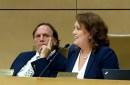 Sen. Jim Abeler, R-Anoka, and Sen. Michelle Benson, R-Ham Lake