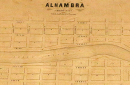 Map of Alhambra
