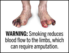 Proposed cigarette health warning