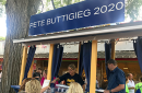 Buttigieg fair booth
