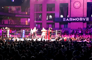 Boxing at the Armory
