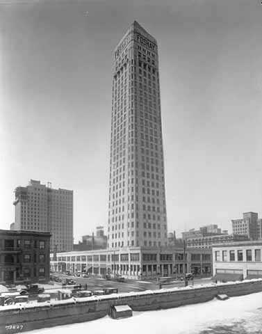 Foshay Tower, 821 S. Marquette Avenue, Minneapolis, 1928–1929.