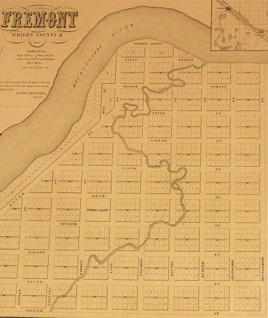 Map of Fremont
