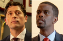 Minneapolis and St. Paul Mayors Jacob Frey and Marvin Carter