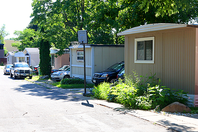 Some of Hilltop's oldest manufactured homes date back to the 1950s.