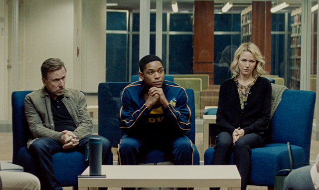 "Tim Roth, Kelvin Harrison Jr. and Naomi Watts in a scene from ""Luce."""