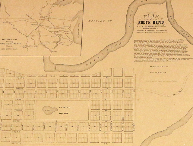 Map of South Bend