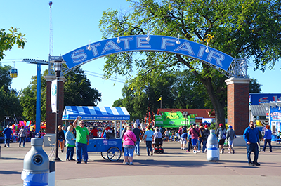 Minnesota State Fair entrance