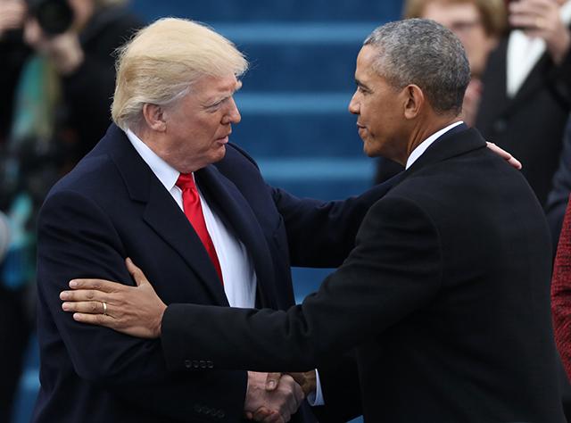 Trump, Obama