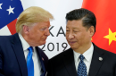 President Donald Trump meeting with China's President Xi Jinping