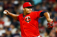 Minnesota Twins pitcher Brusdar Graterol