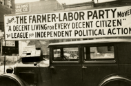 Farmer-Labor political poster
