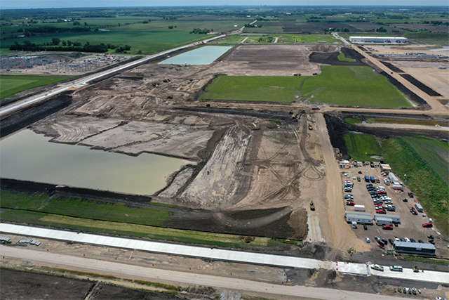 Foxconn site in Mount Pleasant