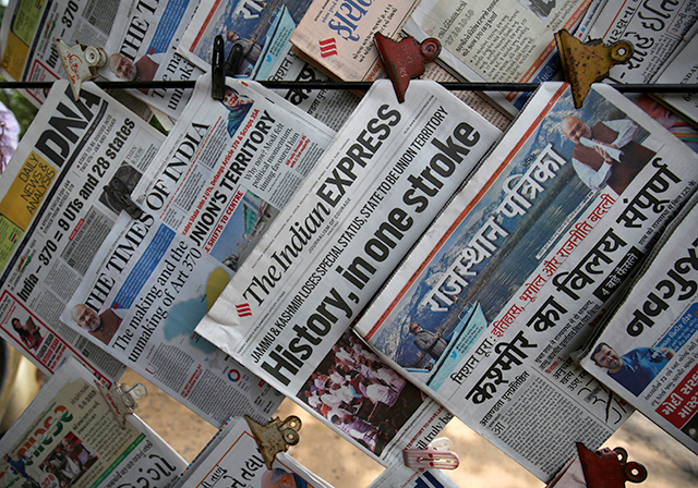Indian newspapers