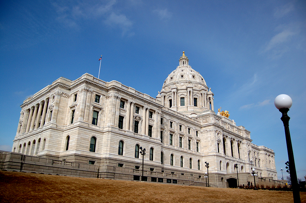 photo of minnesota capitol