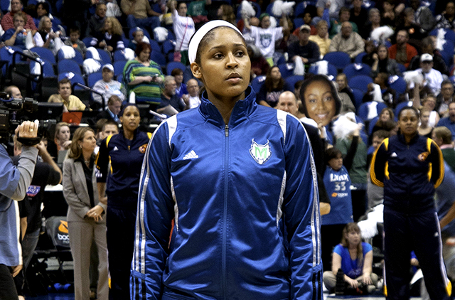 Maya Moore's selflessness and dedication to her cause should be applauded, celebrated.