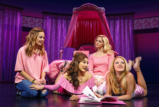 """An image from the Broadway production of """"Mean Girls."""""""