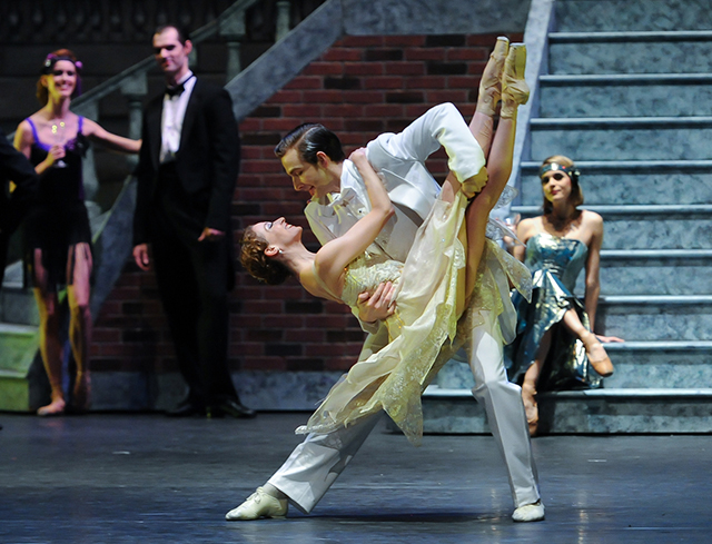 "The Pittsburgh Ballet Theatre performing ""The Great Gatsby."""