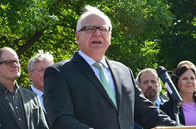 Gov. Tim Walz