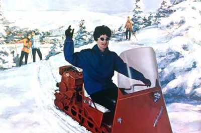 image of sno traveler snowmobile pamphlet
