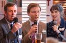 MinnPost reporters Peter Callaghan, Walker Orenstein and Greta Kaul