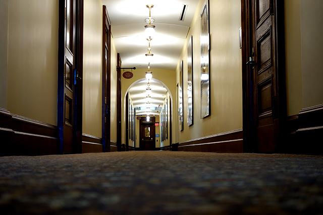 Capitol corridor