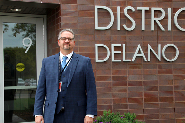 Delano Public Schools Superintendent Matt Schoen