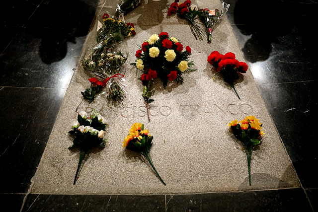 The tomb of Spanish dictator Francisco Franco