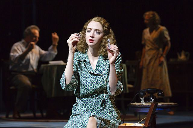 "Carey Cox as Laura Wingfield in ""The Glass Menagerie."""