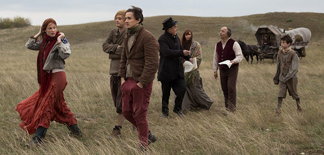 """A still from the movie """"The Troupe."""""""