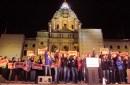 photo of rally outside minnesota capitol