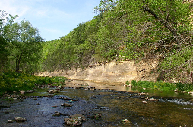 photo of whitewater river in whitewater state park